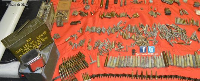 Aveva in casa un arsenale: arrestato un 50enne sulla Metro di Roma