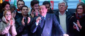 Berlusconi: «Il Pd difende solo i suoi interessi. Il centrodestra torni unito»