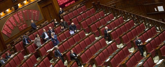 Riforme, l'opposizione lascia i banchi vuoti (diretta in streaming)