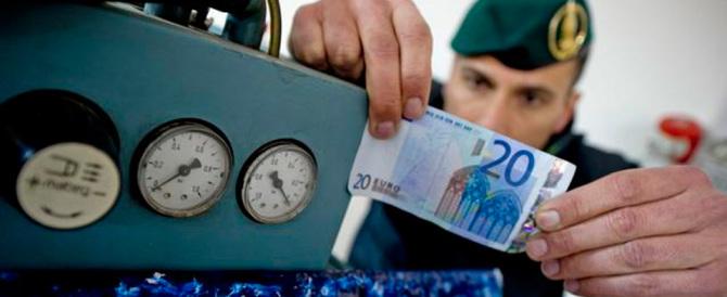"""Falsari napoletani, scoperto un """"tesoro"""": 53 milioni di euro contraffatti"""