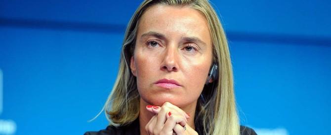 Mogherini commissariata da Juncker. Finora ha collezionato solo flop