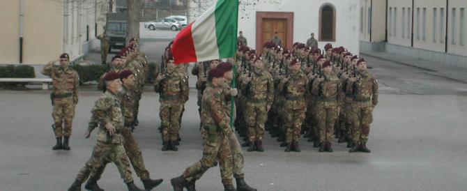 Il comandante della Folgore: in Libia intervento militare prematuro