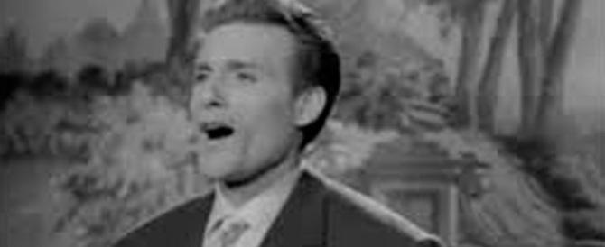 """È morto Giacomo Rondinella, fu il primo a cantare """"Malafemmena"""""""