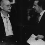 Gino Paoli ospite di Pentathlon. E' il 1986, è già in campagna elettorale (fonte Facebook)
