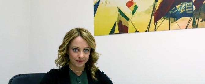 Giorgia Meloni e i Forconi: «Porteremo le loro istanze in Parlamento»