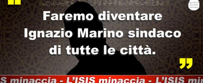 "L'Isis minaccia: ""Marino sindaco in tutte le città"". Per fortuna è solo satira"