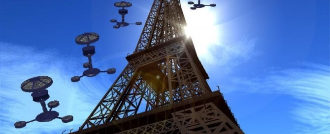 Droni su Parigi. L'esperto: «Potrebbe essere un piano dell'Isis»
