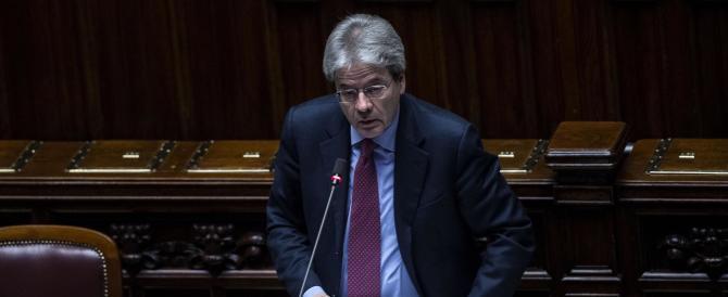 Libia, Gentiloni alla Camera: niente crociate. La soluzione è politica