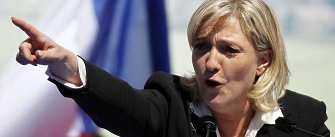 Marine Le Pen contro l'intervento in Libia: «Meglio chiudere le frontiere»