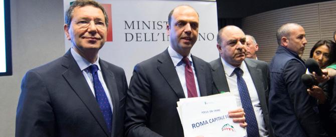 Roma stuprata: con Alfano e Marino sono a rischio anche le Olimpiadi
