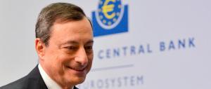 """Draghi parla e la Borsa di Milano vola: «Acquisti """"bond"""" prorogati a fine 2017»"""