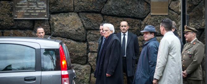Dopo le Fosse Ardeatine Mattarella vada in visita alle Foibe