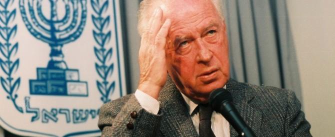 Rabin come Jfk: in un film l'omicidio che sconvolse Israele