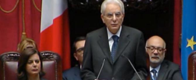 Mattarella esalta la Costituzione, discorso da prima Repubblica
