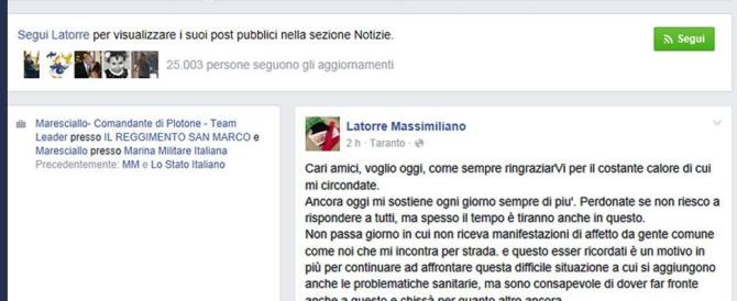Mattarella parla dei Marò, standing ovation. Latorre: grazie, presidente