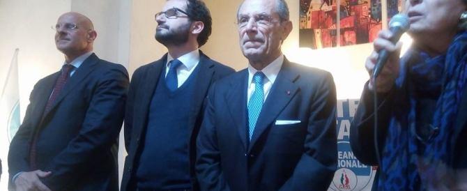 La sfida di Schittulli nella Puglia di Vendola: «Il centrodestra può farcela»