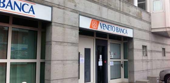 La Guardia di Finanza nelle filiali di Veneto Banca: indagati i vertici