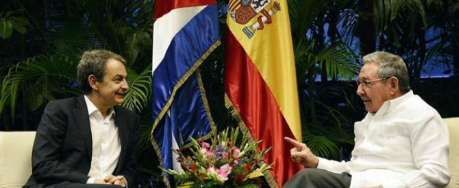 «Gesto sleale». Il governo spagnolo contro il viaggio di Zapatero a Cuba