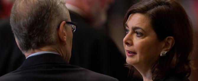 La Boldrini si fa i complimenti da sola: «Io, prestata alla politica, vi dico…»