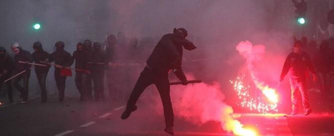 Cortei a Roma, l'ultrasinistra alza la tensione minacciando CasaPound