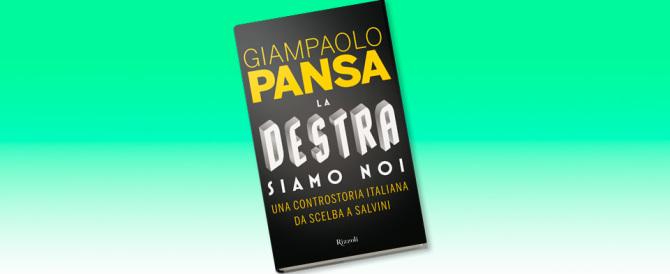 Pansa parla del suo libro: non sputate sulla destra, l'Italia ne ha bisogno