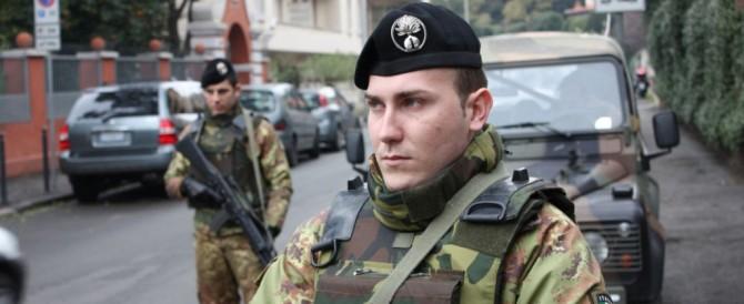 4800 militari in strada, scorte ai giornalisti, 600 soldati per l'Expo