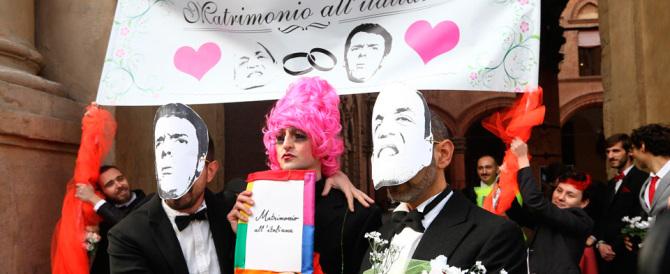 Unioni civili, Renzi ha detto sì: ai gay gli stessi diritti degli sposati