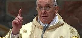 Papa Francesco ai fedeli: è un peccato mortale far lavorare in nero