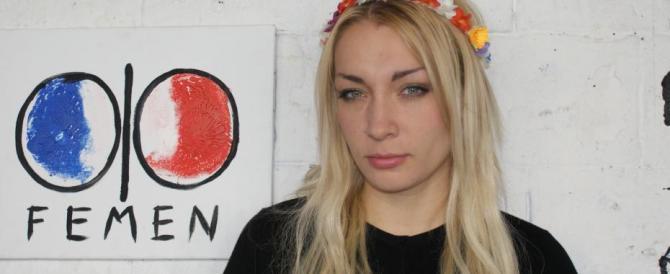 La leader Femen: se non sono morta a Copenaghen, lo devo ai poliziotti