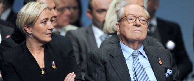Marine Le Pen: mio padre Jean Marie è fuori dalla linea del partito