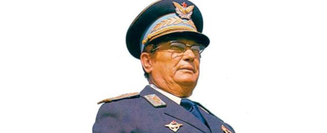 «Mattarella revochi l'onorificenza al sanguinario maresciallo Tito»