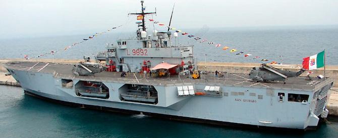 """Le prime navi militari sono partite per la Libia: """"Siamo pronti a intervenire"""""""