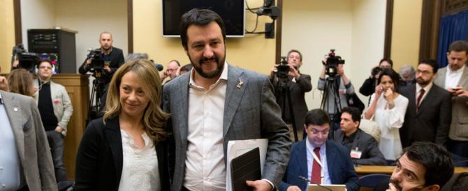 Meloni e Salvini: proviamoci insieme. Un sondaggio rivela che…