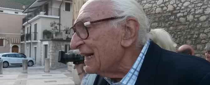 Pannella: «Lo Stato ha ucciso il boss Schiavone invece di dirgli grazie»