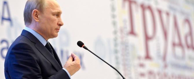 Putin denuncia: «Usa e Ue non fanno nulla per combattere l'Isis»