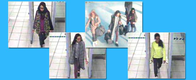 Londra, tre ragazzine scappate per unirsi all'Isis. Hanno 15 e 16 anni