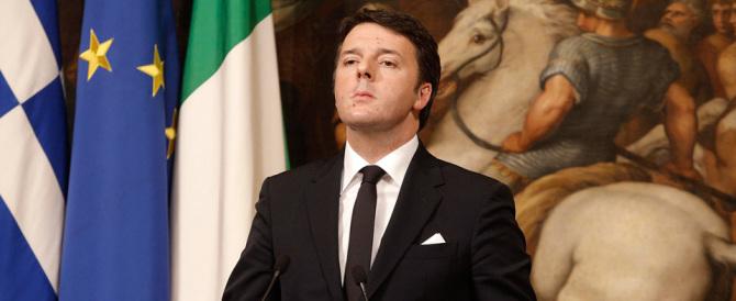 Renzi, doppiogiochista, vuol dividere la destra e abbracciare Tsipras