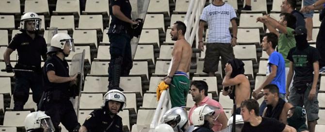 Calcio violento in Grecia, Tsipras ferma il campionato