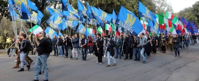Ecco cos'è Sovranità, il nuovo movimento che si è unito a Salvini