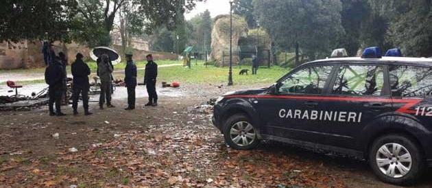 Roma, rissa al Parco del Colle Oppio. I carabinieri arrestano tre stranieri