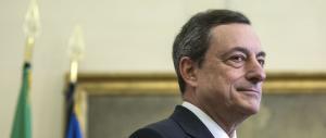 Draghi bacchetta Renzi: «L'Italia ha aumentato le tasse»
