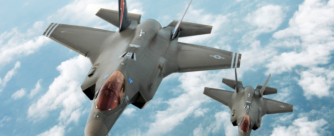 Ora si scopre che gli F35 (odiati dalla sinistra) sono decisivi contro l'Isis