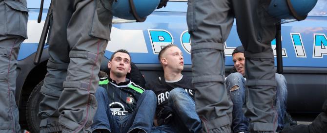 La polizia olandese convince 4 ultrà Feyenoord a costituirsi, in cella altri 3