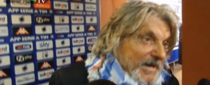 """I love people de futbol…"". L'inglese improbabile di Ferrero (Video)"