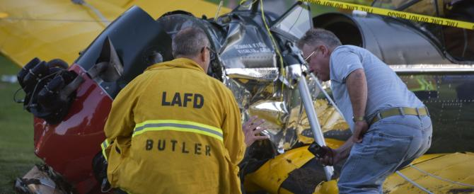 Incidente aereo per Harrison Ford: Indy, malconcio, si riprenderà
