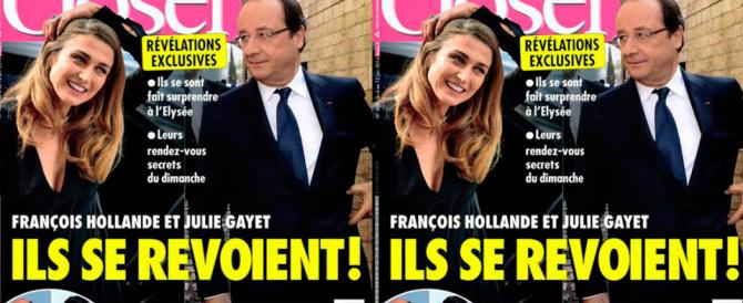Scandalo in Francia: la cena di Hollande con la Gayet, gli amici e gli alcolici