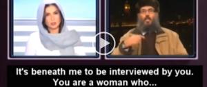 """""""Zitta, sei una donna!"""". Ma la giornalista libanese reagisce all'islamista. Ecco come (Video)"""