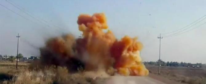 L'Isis usa bombe al cloro: le prove in un video trasmesso dalla Bbc