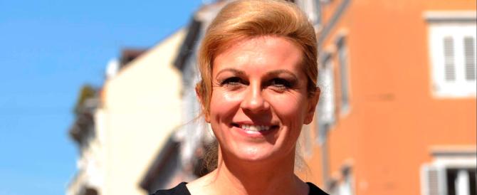 Il coraggio della nuova presidente croata: via il busto di Tito