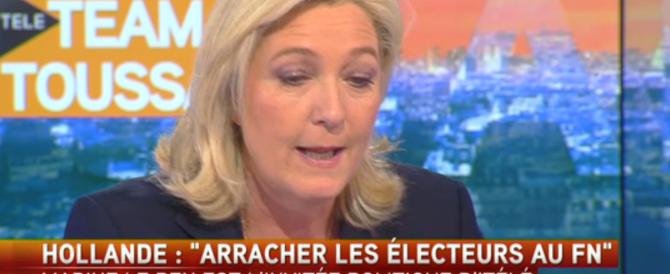 Le Pen replica a Hollande: «Il pericolo è l'Islam fondamentalista non il Fn»